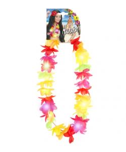 Collana Hawaiiana Multicolore Luminosa