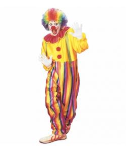 Circus Clown (costume con collare e bretelle)