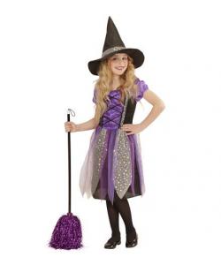 Strega (vestito, cappello) da 5 a 13 anni