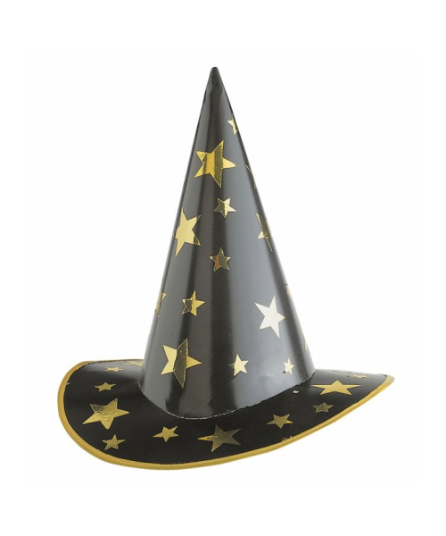 spedizione gratuita buono sconto moda più desiderabile Cappello Strega-Mago in cartoncino - DIVERTIFESTE