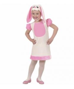 Coniglietta (vestito, copricapo) 2-4 anni