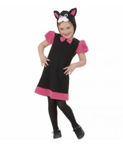 Gattina (vestito, copricapo) 2-4 anni