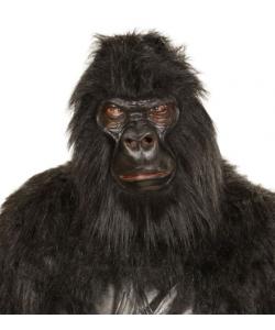 Maschera Gorilla (in peluche)