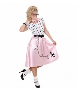 Poodle Girl (vestito, cintura, fazzoletto da collo)
