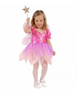 Fatina Rosa (vestito, ali) 1-3 anni