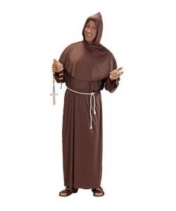 Frate (tunica con cappuccio, cintura)