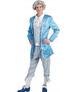Nobile Azzurro (giacca con gilet e camicia, pantaloni)