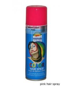 Pink Hair Spray