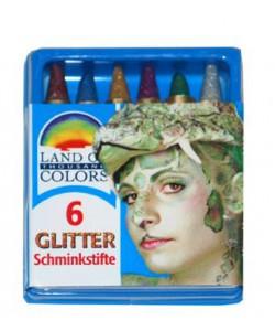 Set 6 colori glitter