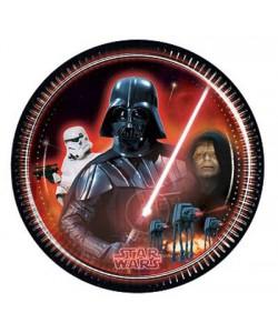 Piatto Star Wars 23 cm 8 pz