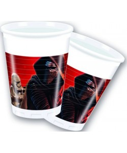Bicchiere plastica Star Wars 200 ml  8 pz