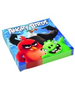 Tovagliolo Angry Birds 33 x 33 cm 20 pz